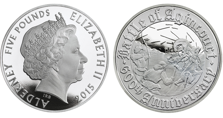 2015-alderney-battle-of-agincourt-5-pound-silver-proof-coin