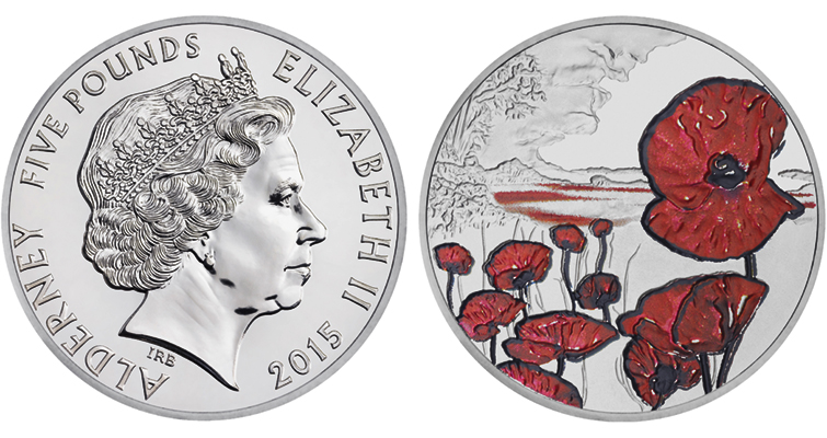 2015-alderney-brilliant-uncirculated-remembrance-day-5-pound-coin