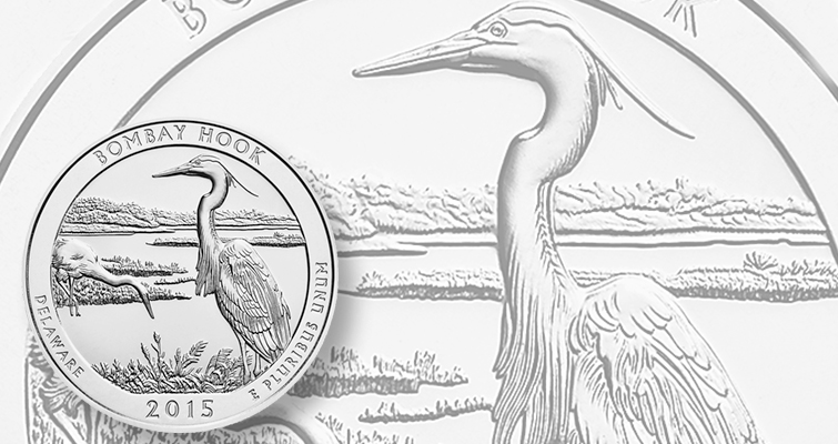 U.S. Mint launch Bombay Hook National Wildlife Refuge quarter