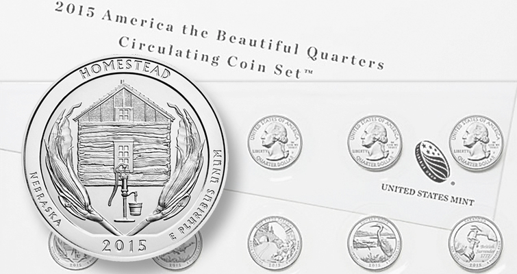 U.S. Mint offering 2015 Circulating Coin set to collectors Nov. 18