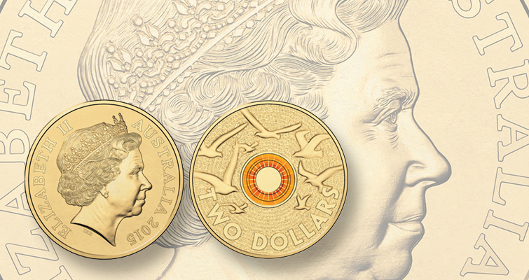 Australia marks Remembrance Day with orange sunset on coin