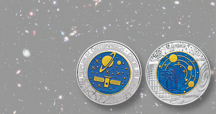 World coin issuers shoot for moon with space-themed coins