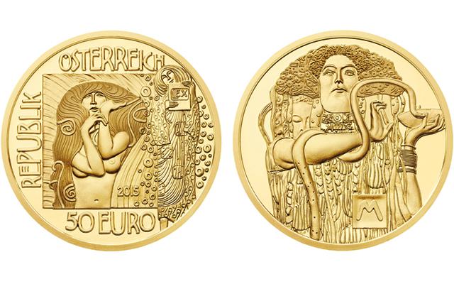 2015-austria-klimt-medicine-gold-coin
