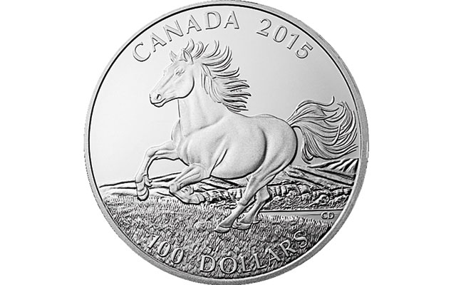 Royal Canadian Mint issues fifth silver $100 coin in series