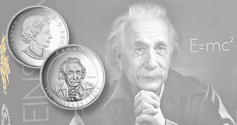 It's all relative for Royal Canadian Mint's new Einstein coin