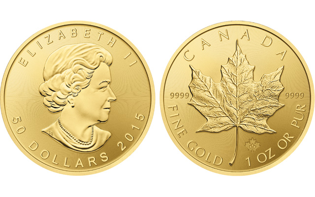 Canada upgrades finish on gold bullion Maple Leaf coins with radial lines