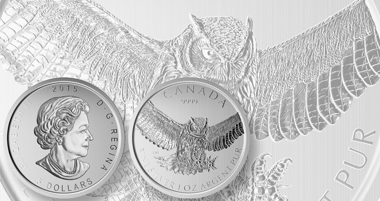 Royal Canadian Mint ends Birds of Prey silver bullion series