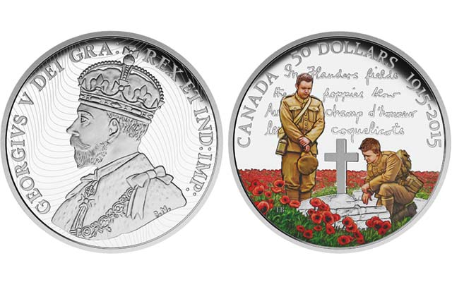 The Poppies glow in Flanders Fields (and on Canadian coins, too)
