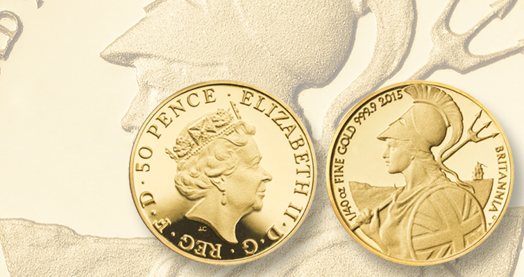 Royal Mint launches Proof 2015 Britannia silver, gold collection