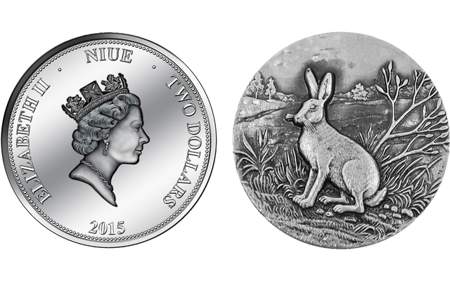 Perfect for Easter: Helvetic Mint showcases mountain hare in Swiss Wildlife series