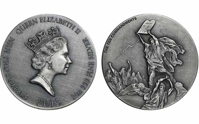 APMEX releases fourth issue in exclusive Biblical silver series