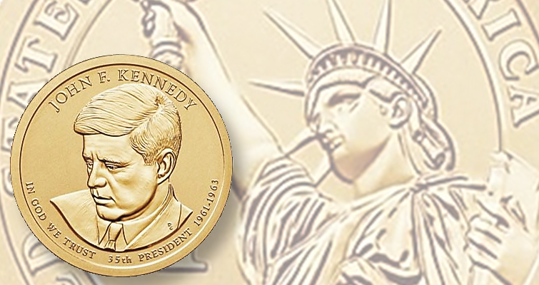2015 John F. Kennedy Coin and Chronicles set awaits Sept. 16 release