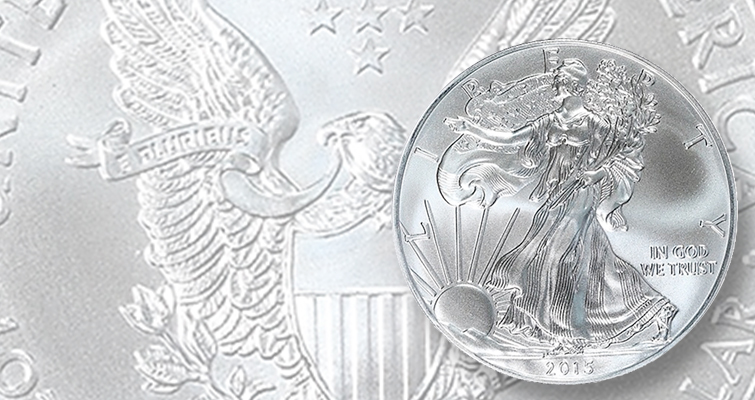 Grading services certifying American Eagle silver bullion coins from multiple Mints