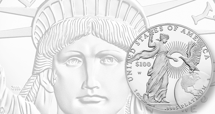 Proof 2015-W American Eagle platinum coin mintage set at 4,000