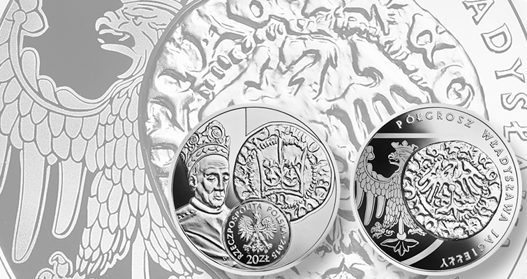 Poland celebrates historic currency with silver 20-złoty coin