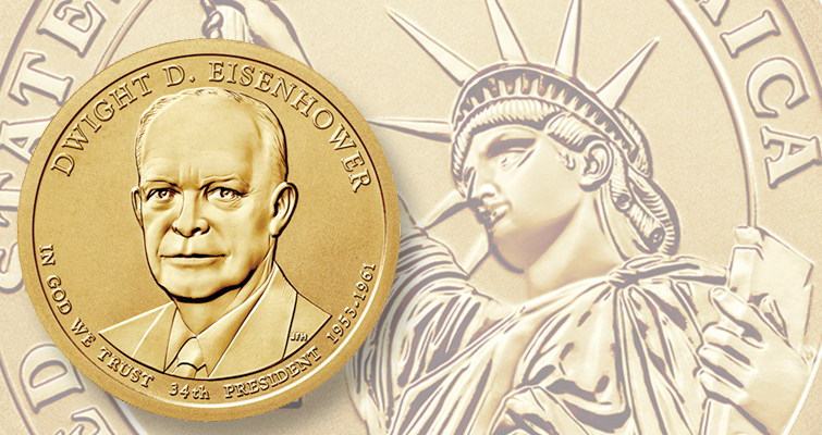 The U.S. Mint sold out its maximum authorization 17,000 2015 Dwight D. Eisenhower Coin and Chronicles sets in 15 minutes Aug. 10.