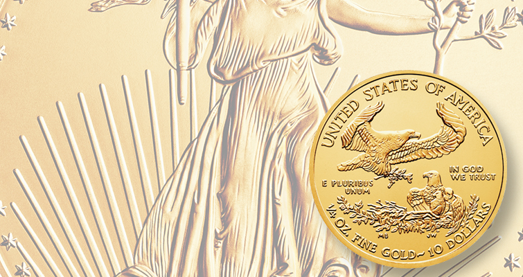 Mint reports sellout for 2015 quarter-ounce gold American Eagles