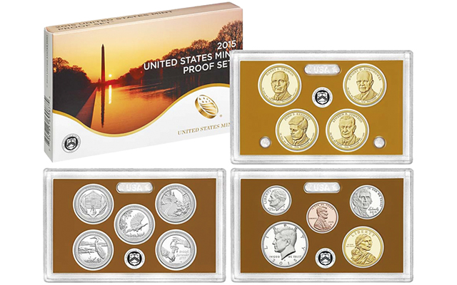 March 24 first day of sales for 2015-S standard U.S. Mint Proof set