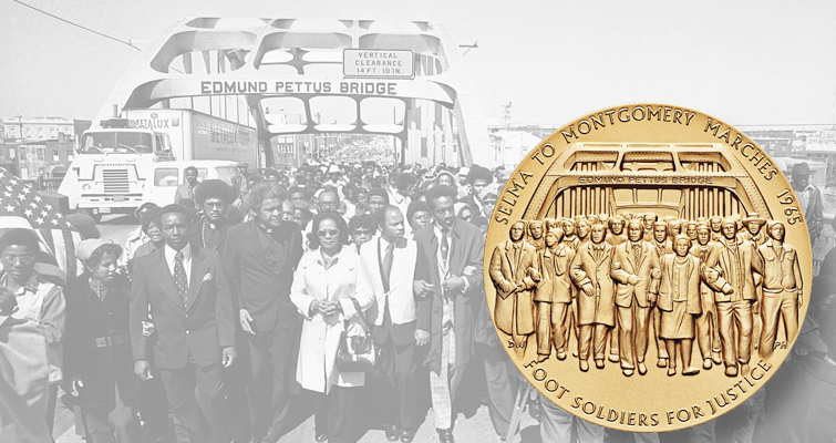 Selma Foot Soldiers recognized at congressional gold medal ceremony