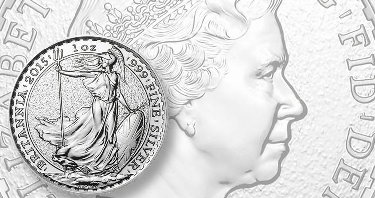 Royal Mint silver Britannia bullion