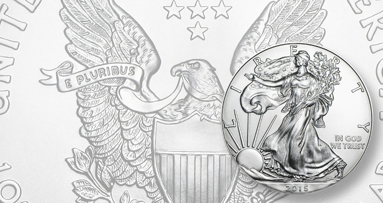 U.S. Mint sells last of its of 2015 silver American Eagles Dec. 15