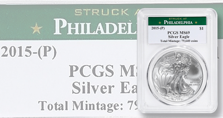 Market moves for 2015 (P) American Eagle silver bullion coins