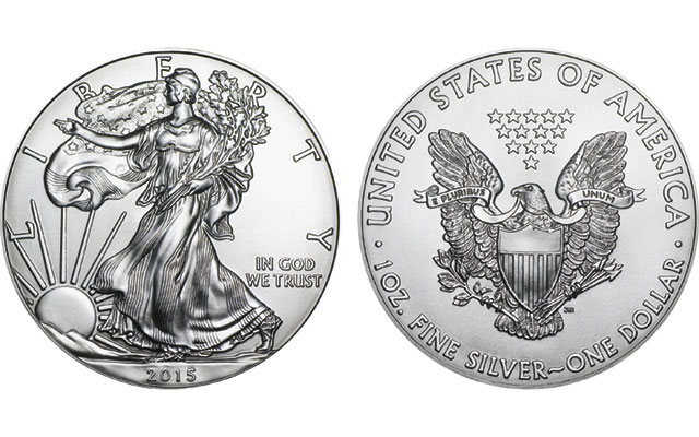 Philadelphia Mint strikes 2015-dated silver American Eagle bullion coins