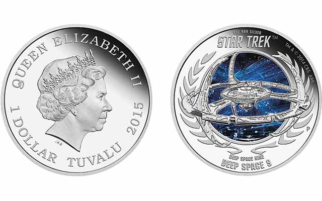 Perth Mint coins explores 'Star Trek: Deep Space Nine' television series