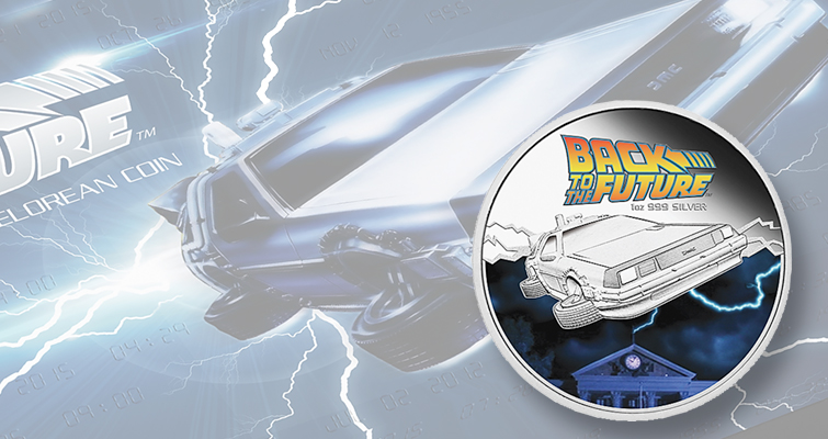 Perth Mint goes 'Back to the Future' with three new coins