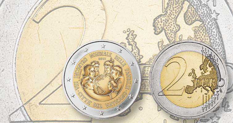 Vatican plans commemorative €2 coin for World Meeting of Families
