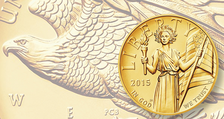 Sales continue to climb for 2015-W American Liberty, High Relief $100 gold coin