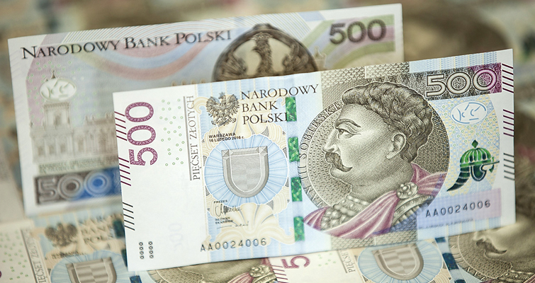 Polish National Bank to complete series with new 500-zloty note in 2017