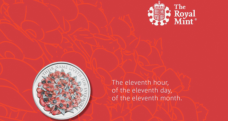 Royal Mint plucks red poppy again for 2016 Remembrance Day coin