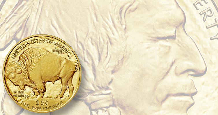 2016 American Buffalo gold Proof coin lead