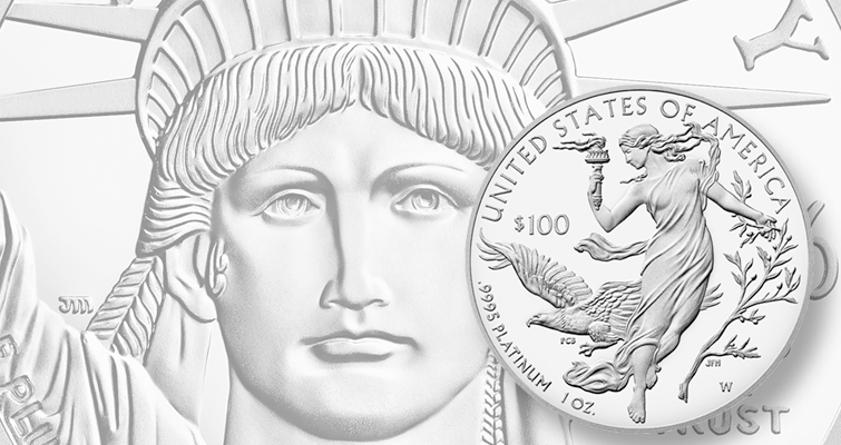 2016 American Eagle Platinum One Ounce Proof Coin Lead