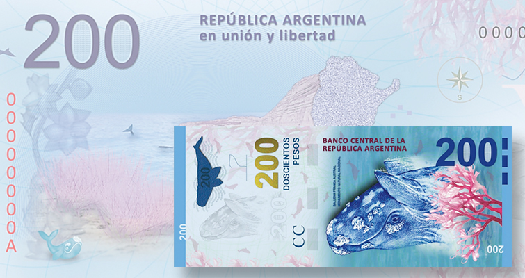Argentina goes large with high-denomination notes starting in 2016