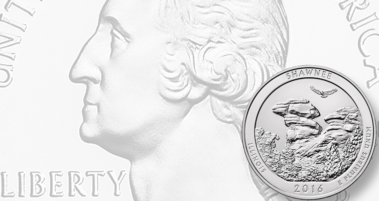 2016 Shawnee National Forest 5-ounce silver bullion quarter sales begin