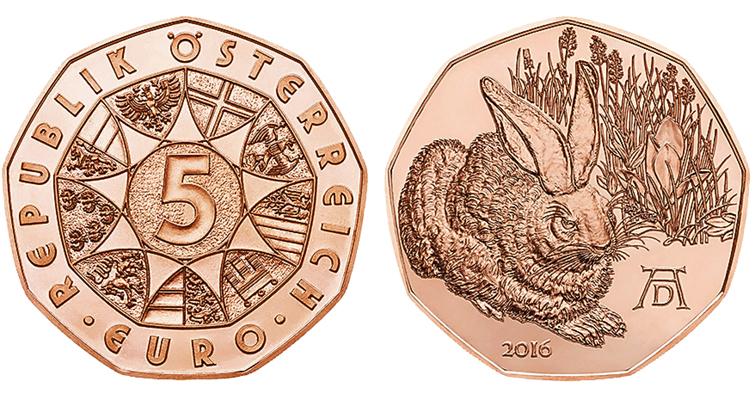 2016-austria-albrecht-durer-bunny-coin-copper