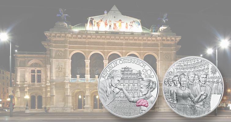 Austrian Mint has a ball with 2016 silver €20 commemorative coin