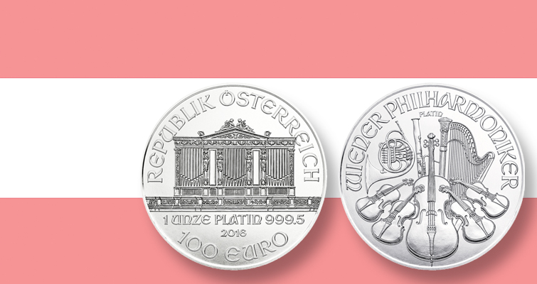 Austrian Mint adds platinum composition to bullion Philharmonic series