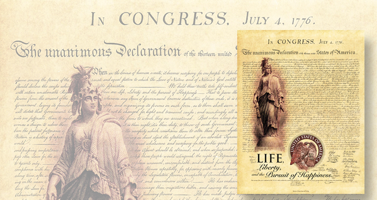 BEP reveals 2016 intaglio prints honoring Declaration of Independence