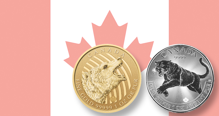 Royal Canadian Mint honors Canada's wildlife in silver, gold
