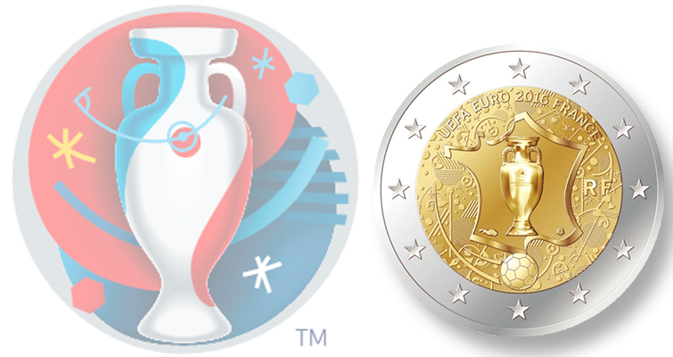 France creates circulating commemorative €2 coin for soccer tournament