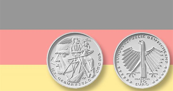 2016-germany-otto-dix-coin-and-flag