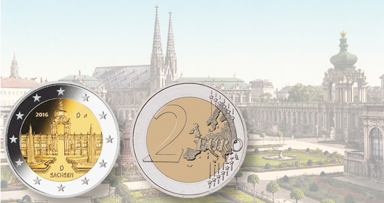 Germany unveils design for 2016 circulating commemorative €2 coin