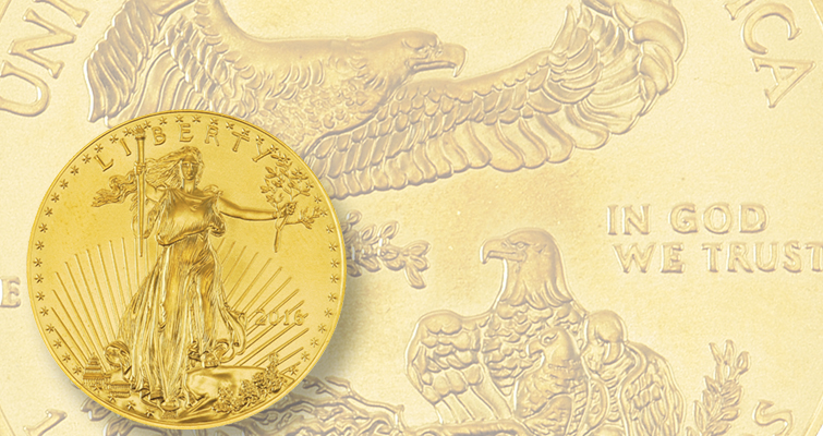 Gold American Eagle bullion just had its best sales month since July 2015