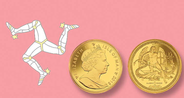 Isle of Man begins selling 2016 Angel gold bullion coins