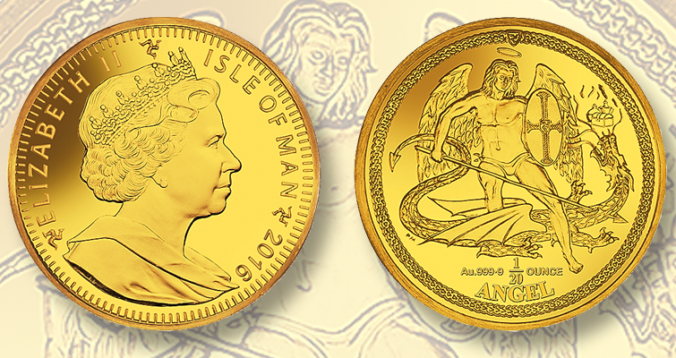 Pobjoy Mint issues final privy mark Angel gold bullion coin