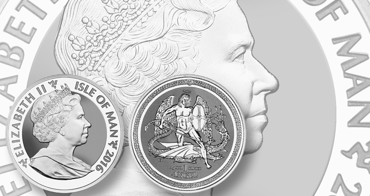 Isle of Man's Reverse Proof silver Angel enters bullion market