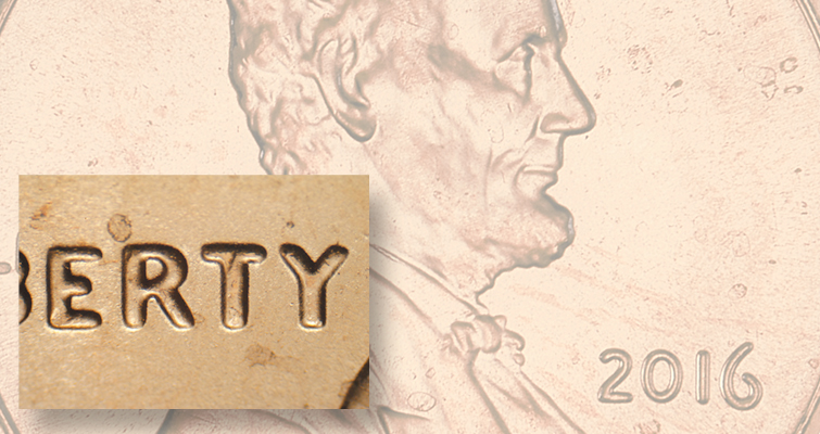 Lincoln cent source for 2016 doubled die find: Varieties Notebook